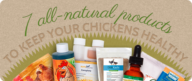 7 Products Healthy Chickens