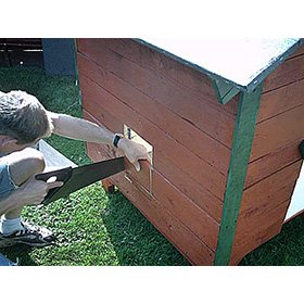 Pallet Wood Coop Plans (6-8 chickens) from My Pet Chicken