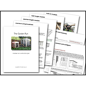 Garden Run Building Plans Complete Series From My Pet