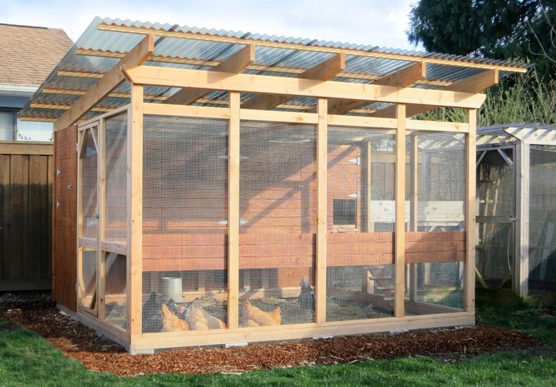 Garden Loft Building Plans Up To 16 Chickens From My