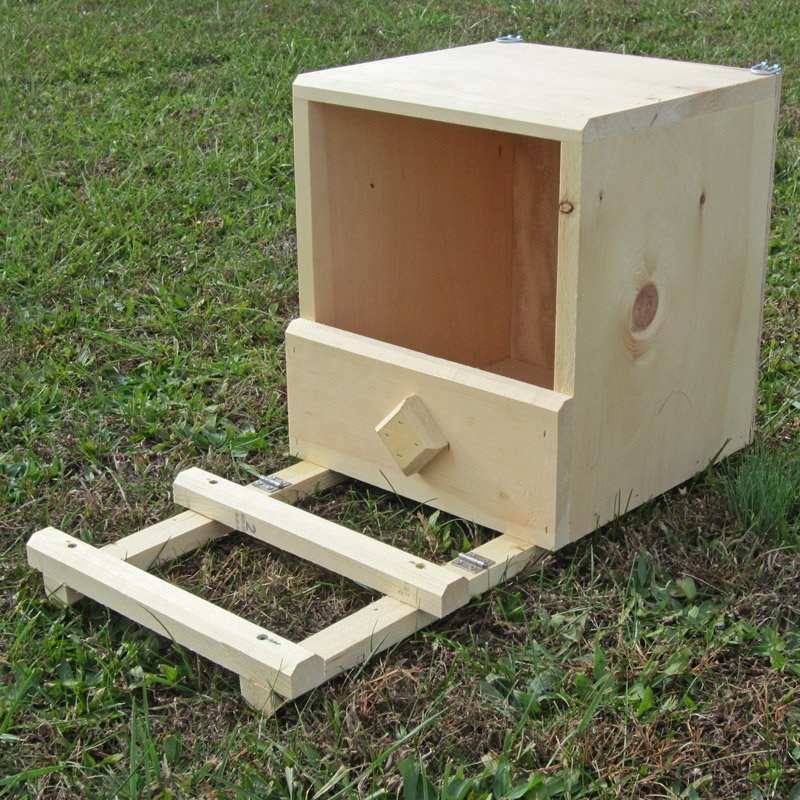 Handcrafted Wooden Nest Box