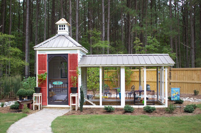 Fully Customized Chicken Coop P2019 on Mid Century Modern House Plans