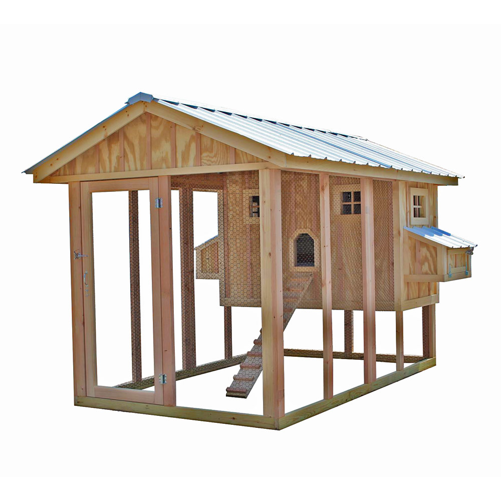 American Coop Chicken Coop W 12 Run Up To 14 Chickens