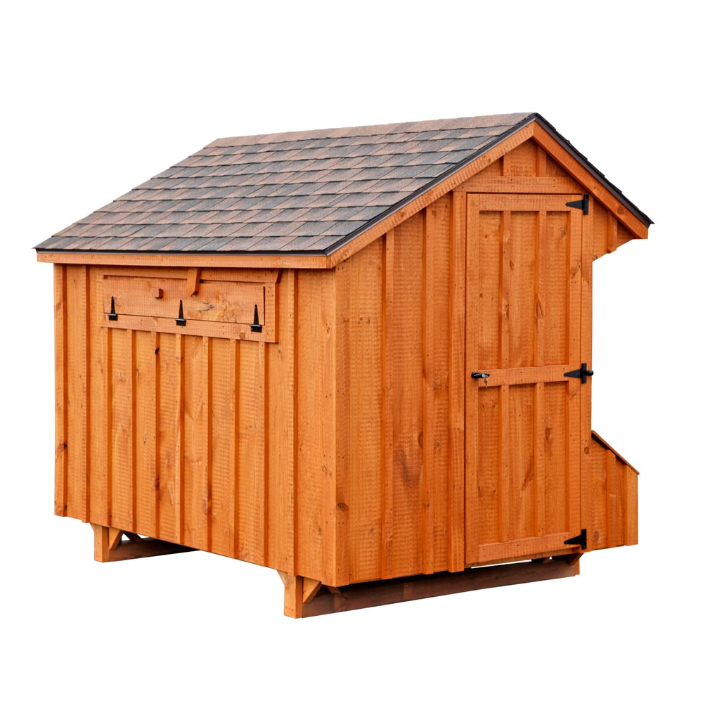 Craftsman 5x8 Chicken Coop Up To 24 Chickens From My Pet
