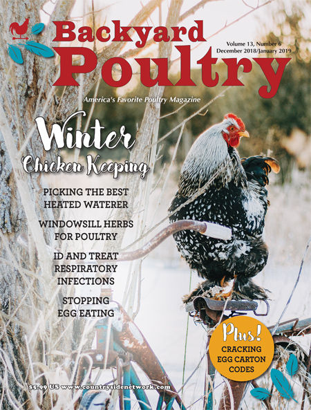 Backyard Poultry Magazine 1 Year Subscription