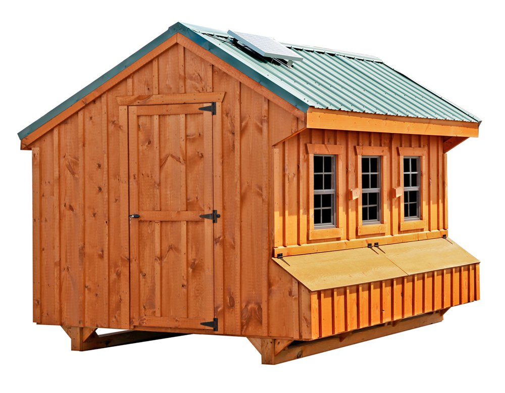Craftsman 7x12 Chicken Coop Up To 40 Chickens