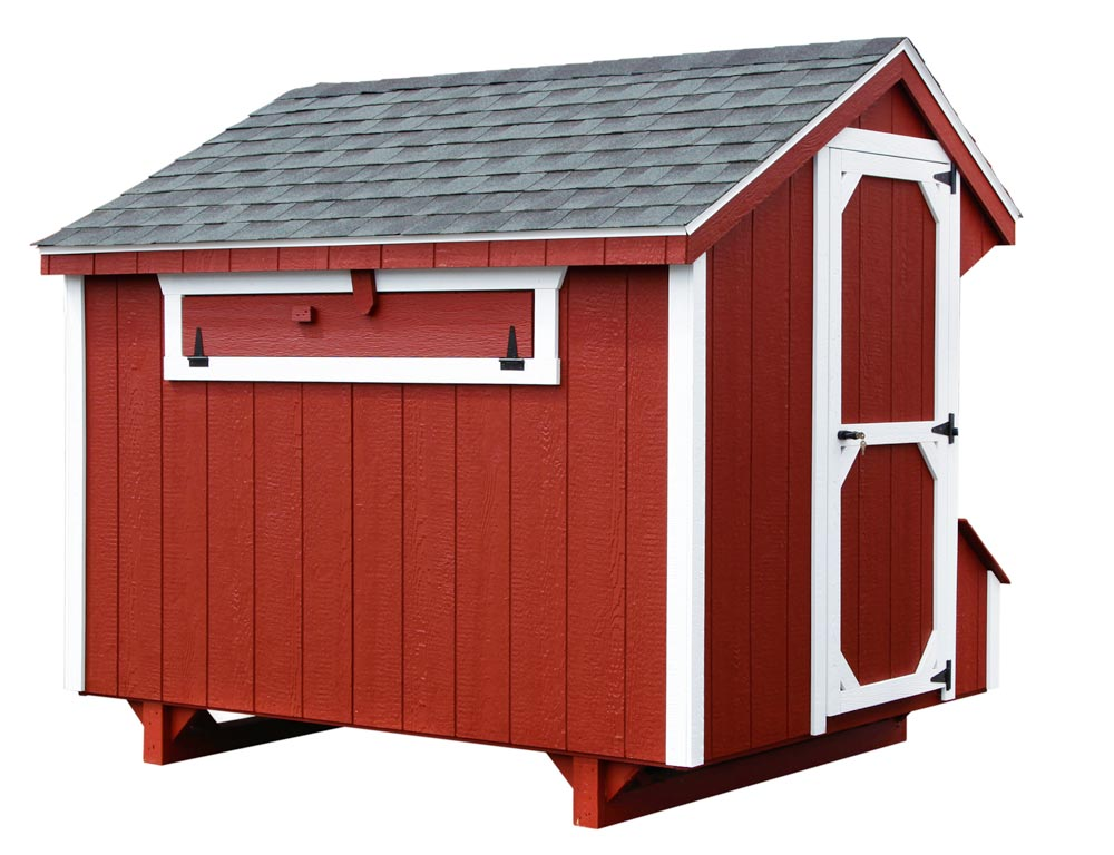craftsman 5x8 chicken coop up to 24 chickens