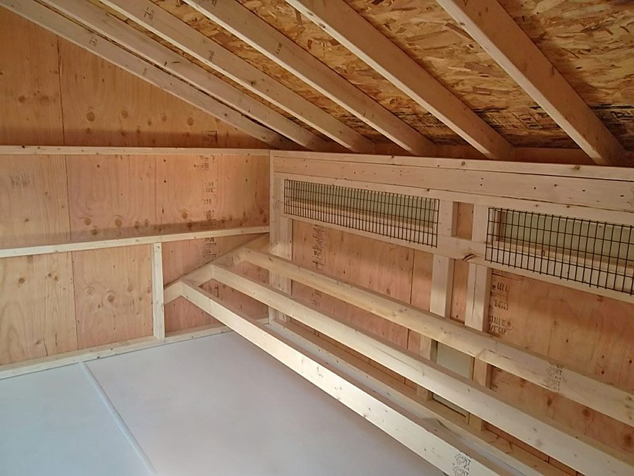 The egg lover 40 chickens from my pet chicken for Chicken coop interior designs