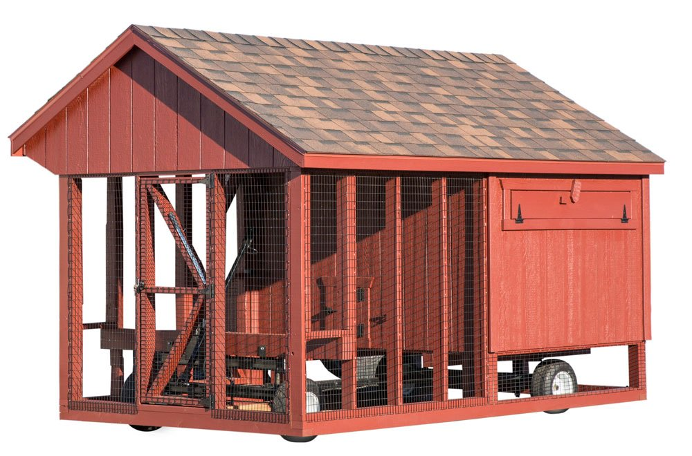 All In One 6x10 Chicken Coop Plus Run Up To 15 Chickens