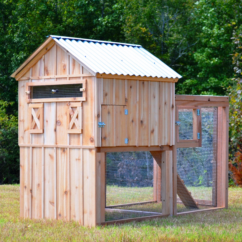 The holland chicken coop up to 6 chickens from my pet for Chicken coop size for 6 chickens