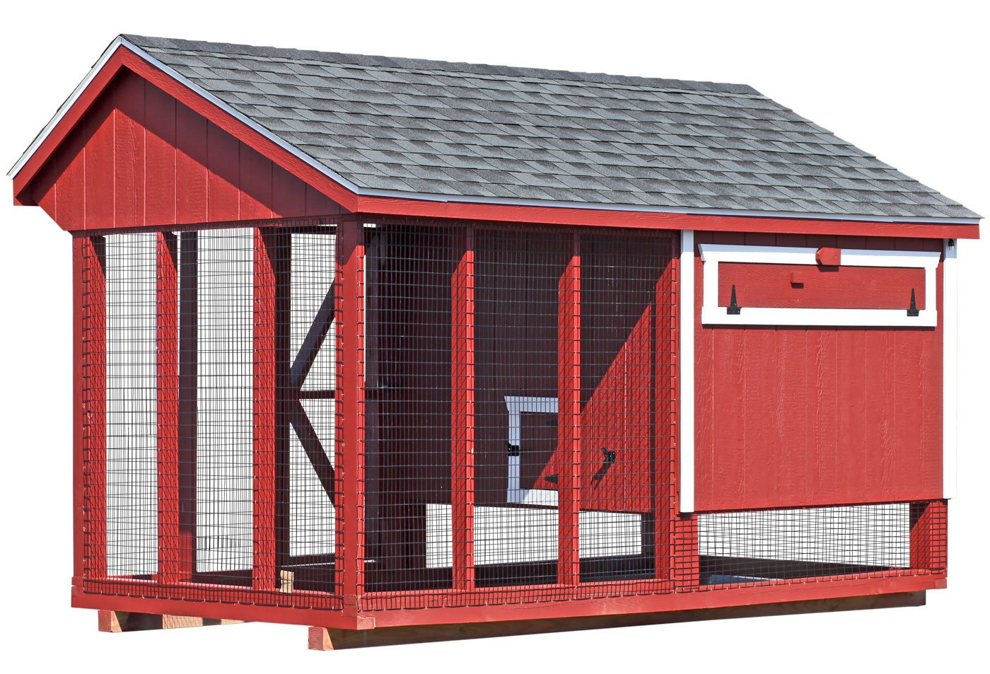 All in one 6x12 chicken coop plus run up to 20 chickens for Chicken run for 6 chickens