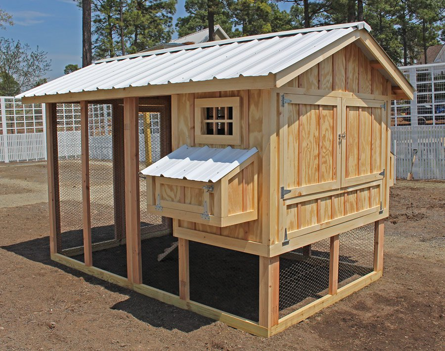 american coop chicken coop w 12 39 run up to 14 chickens