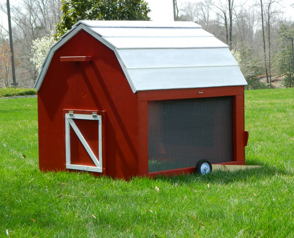 Minibarn Mobile Chicken Tractor Plans From My Pet Chicken