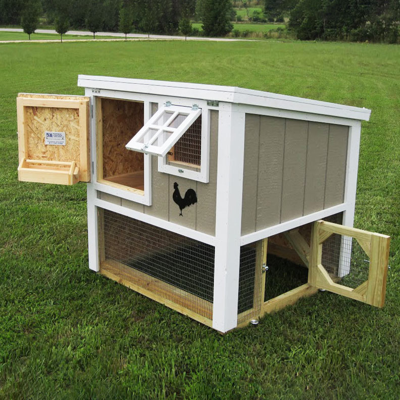 The Loft Chicken Coop (up To 6 Chickens