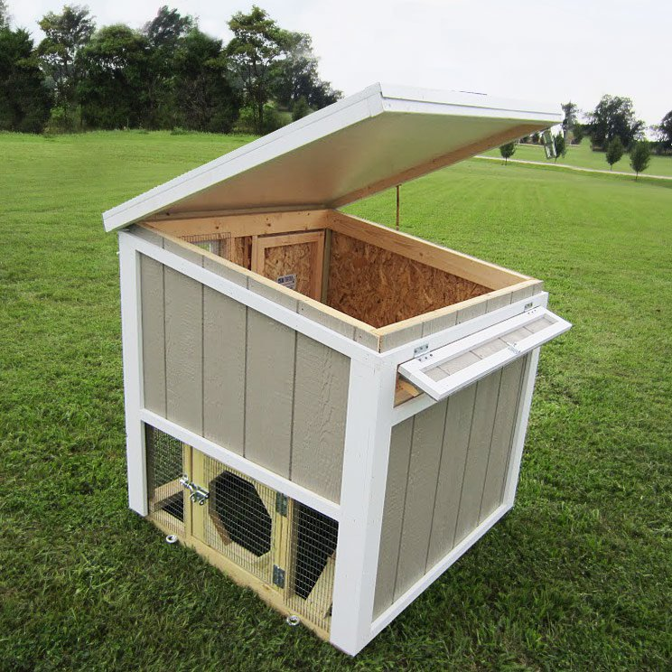 The Loft Chicken Coop Up To 6 Chickens From My Pet Chicken