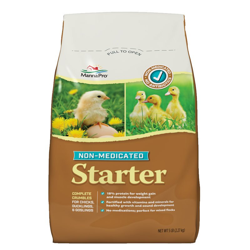 Chick Starter Feed Non Medicated 5lb Bag