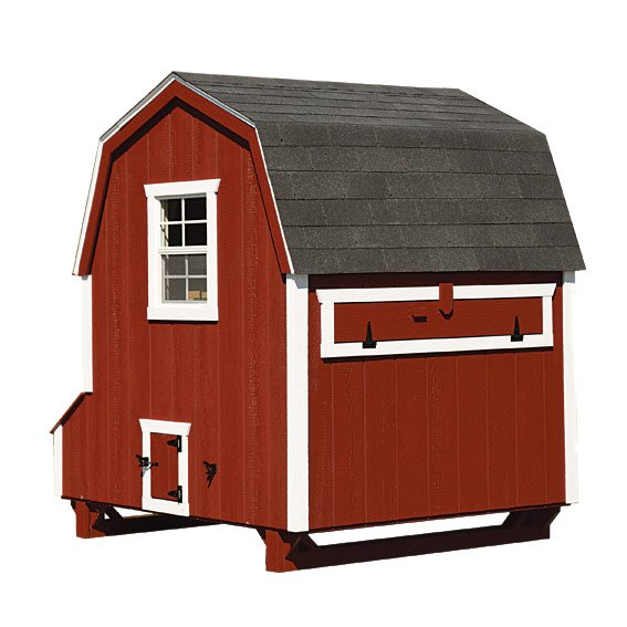 dutch style 6x6 chicken coop up to 20 chickens