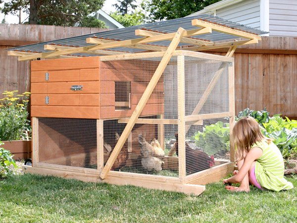Garden Ark Building Plans Up To 4 Chickens
