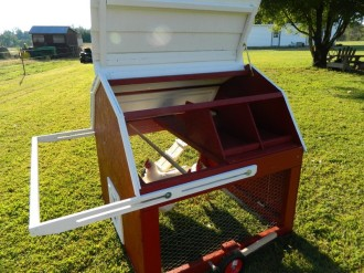 Minibarn Mobile Chicken Tractor Plans Up To 6 Chickens