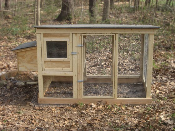 Urban chicken coop plans up to 4 chickens from my pet for Small chicken house plans