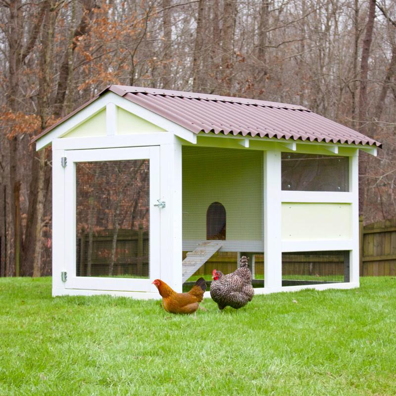The Playhouse Coop Kit (up To 8 Chickens) From My Pet Chicken