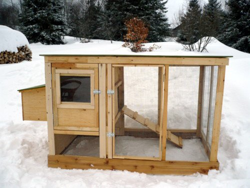 urban chicken coop plans (up to 4 chickens) from my pet chicken