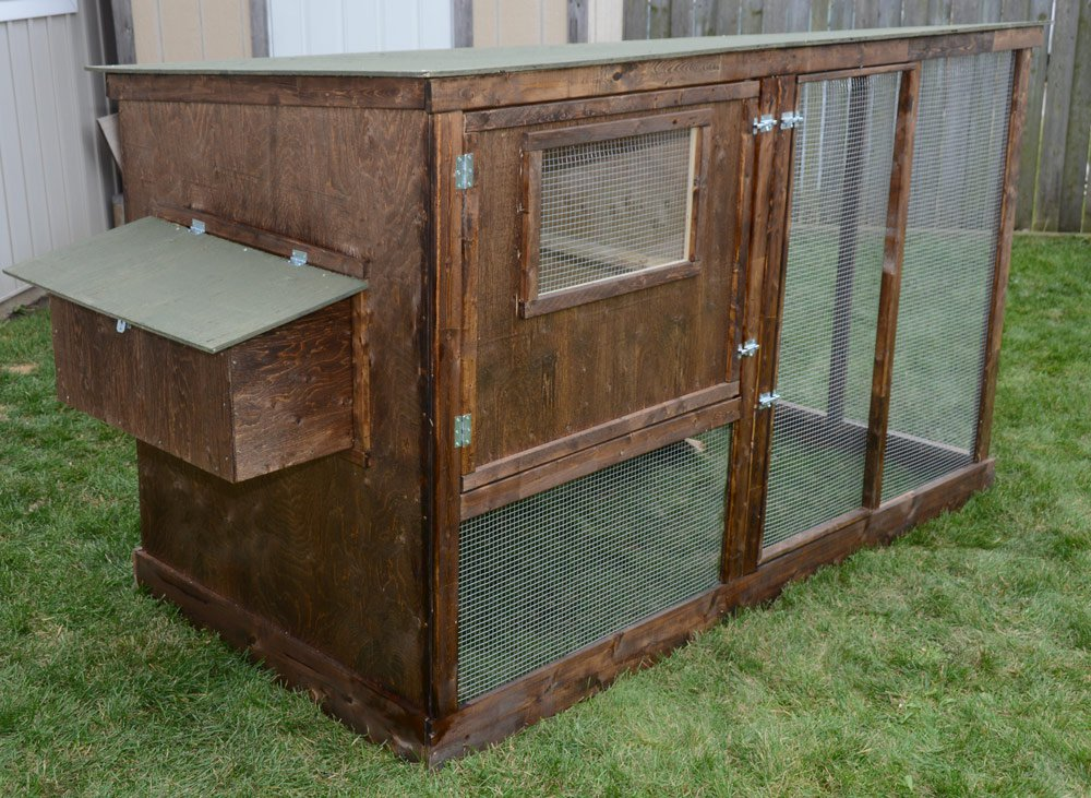 Family chicken coop plans up to 6 chickens from my pet for Plans chicken coop