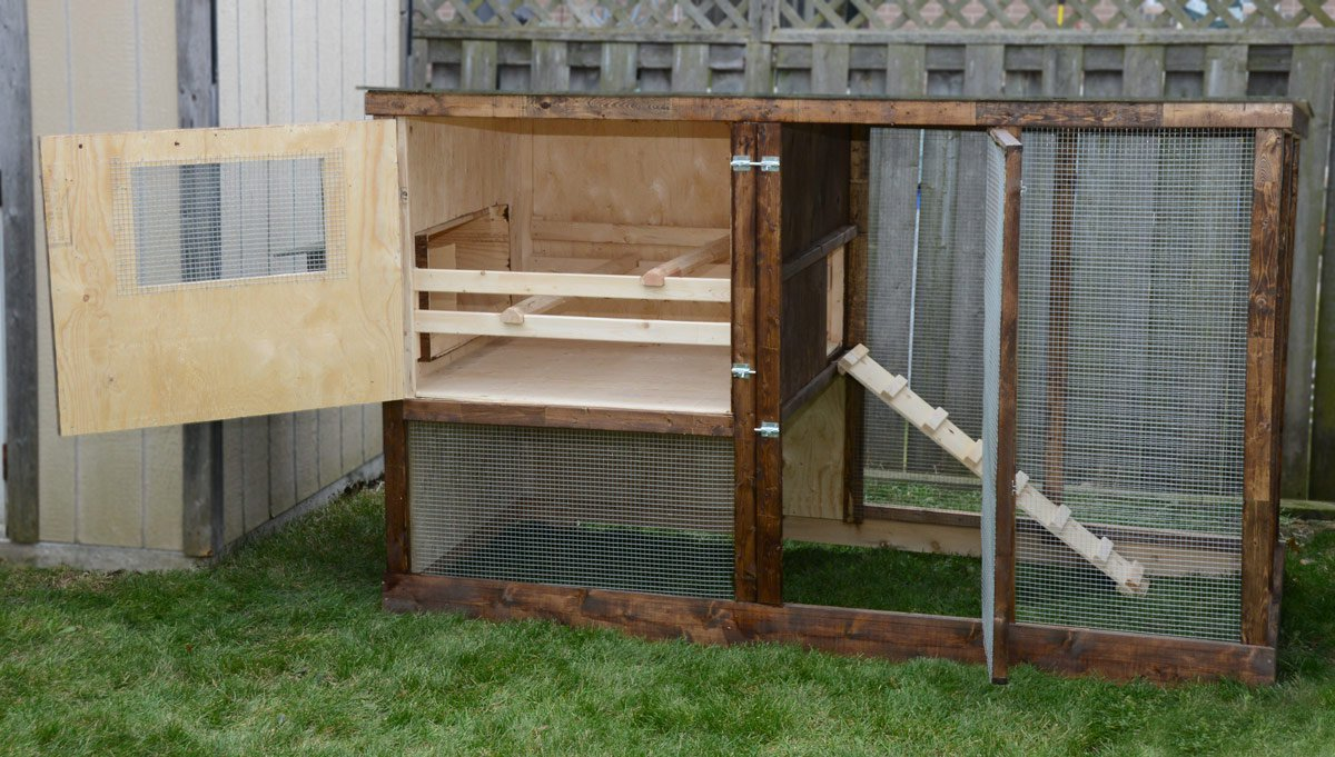 Family chicken coop plans up to 6 chickens from my pet for Chicken coop size for 6 chickens