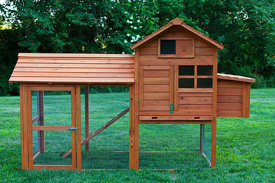 The clubhouse coop with run original from my pet chicken for Chicken coop for 2 chickens