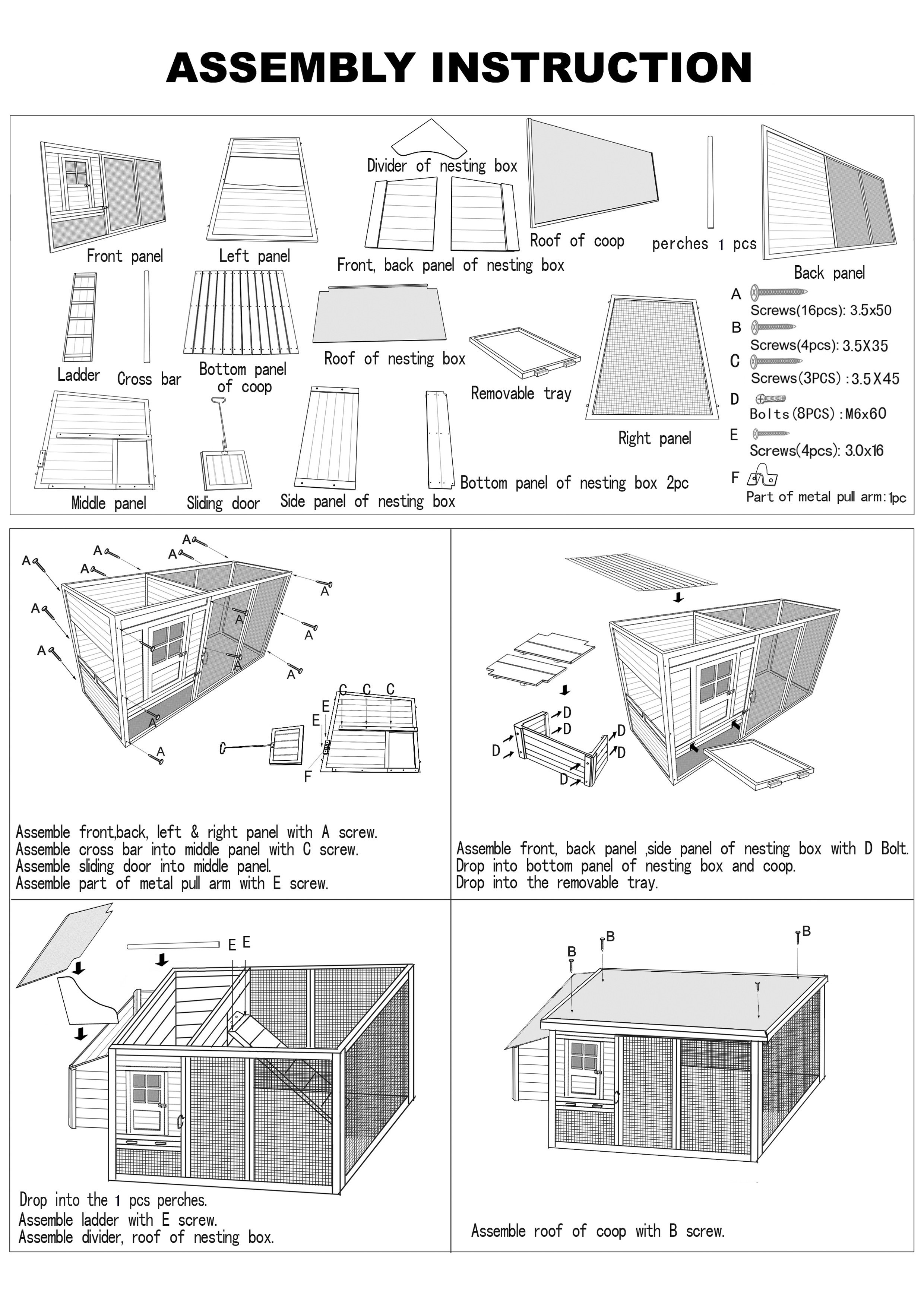 realspace chair assembly instructions