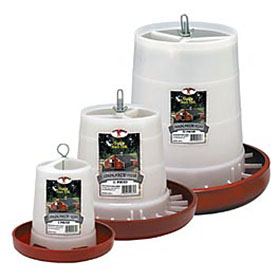 Plastic Hanging Feeders- 3 Sizes