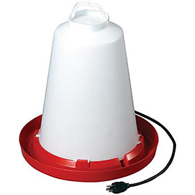 Heated Waterer, 3.3 Gallon