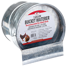 Bucket Waterer, 1 Gallon