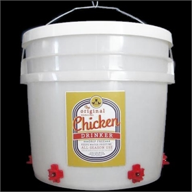 Drip-Free Drinker, 3 Gallons (up to 30 chickens)