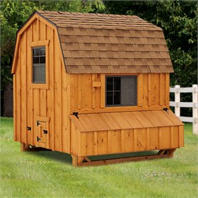 Dutch Style 6x6 Chicken Coop (up to 20 chickens)