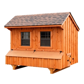 Craftsman 4x6 (for 12-15 chickens)
