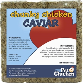 Chunky Chicken Caviar, 11 oz.