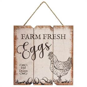 Farm Fresh Eggs Hanger