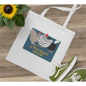 Chicken Motif Tote Bags