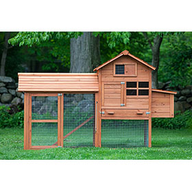 The Clubhouse Coop w/Run (4 chickens)