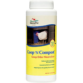 Coop 'N Compost Odor Neutralizer, 1.75 lb