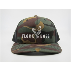 FLOCKBOSS Retro Trucker Hat