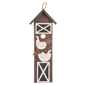 20 High Chicken Barn Wooden Sign
