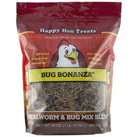 Happy Hen Treats Bug Bonanza Protein Supplement, 30 oz