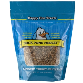 Happy Hen Treats - Duck Pond Medley High Protein Supplement, 1.5 lb