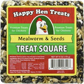 Treat Square, Mealworm & Seeds