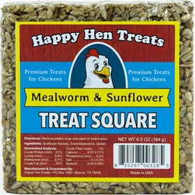 Treat Squares, Mealworm & Sunflower