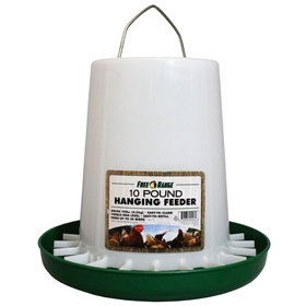 Plastic Hanging Poultry Feeder - 3 sizes