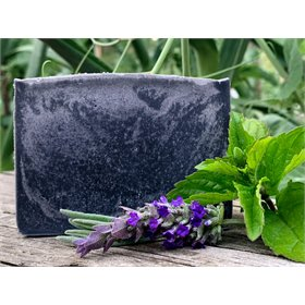 Lavender Mint Charcoal Egg Yolk Soap