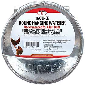 Round Hanging Waterer, 16 oz
